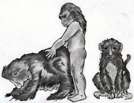 Der sexuelle Oregon des Affen